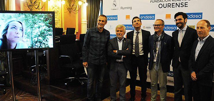 A Fundación Real Madrid trae a Ourense unha carreira solidaria