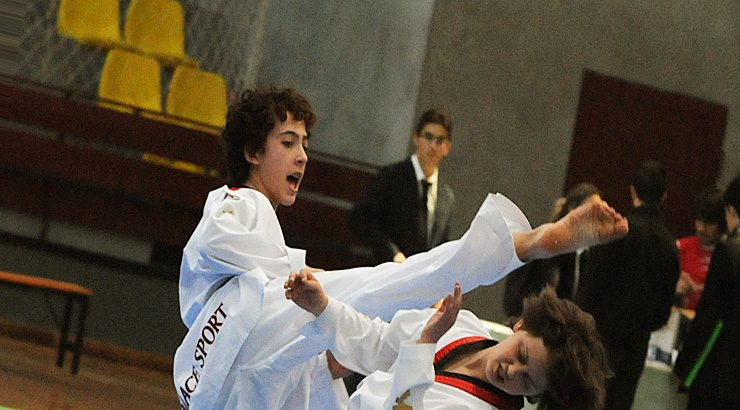 Taekwondo en el Paco Paz