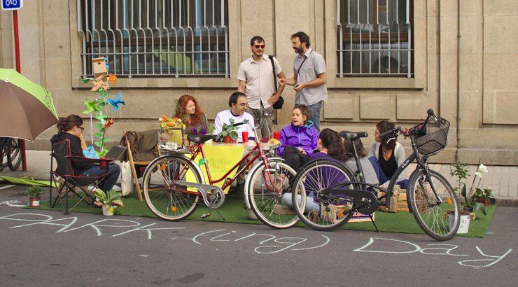 PARK(ing) Day en Ourense