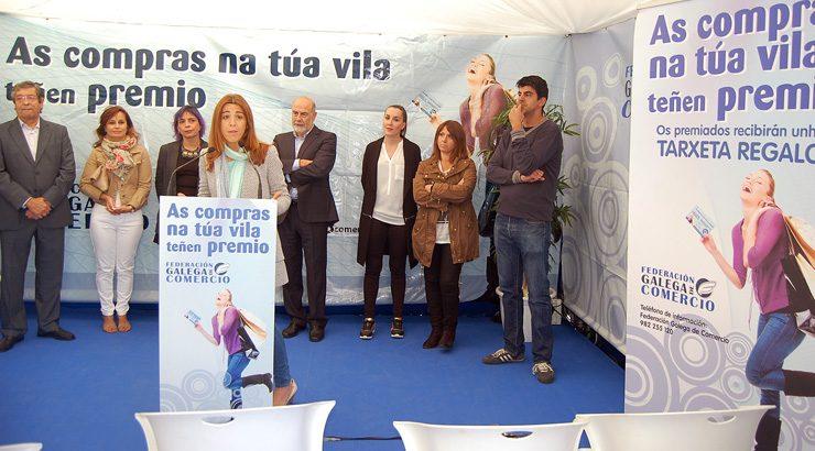 Comprar en Allariz prémiase con 4.000 euros