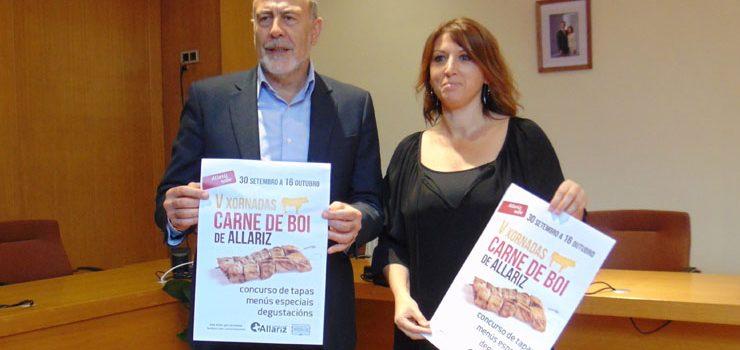 Allariz celebra as V Xornadas de Carne de Boi