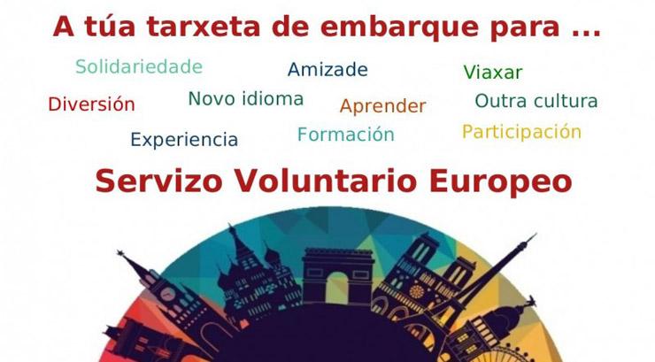 Charla informativa en Xinzo sobre voluntariado europeo