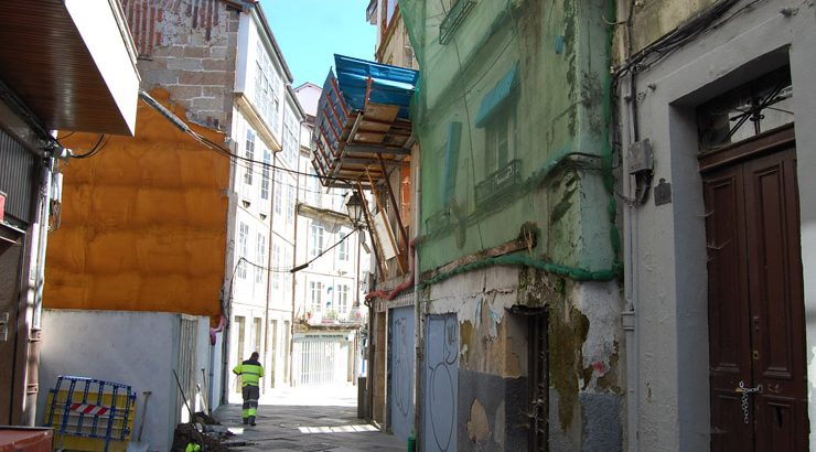 A Xunta construirá 10 novas vivendas de promoción pública na cidade