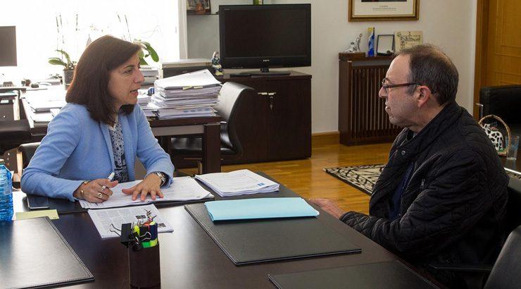 Medio Rural estudará iniciar a parcelaria de San Cosme de Cusanca, no Irixo