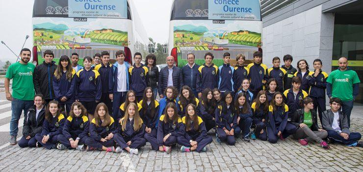 Os estudantes da ESO viaxan pola historia da provincia