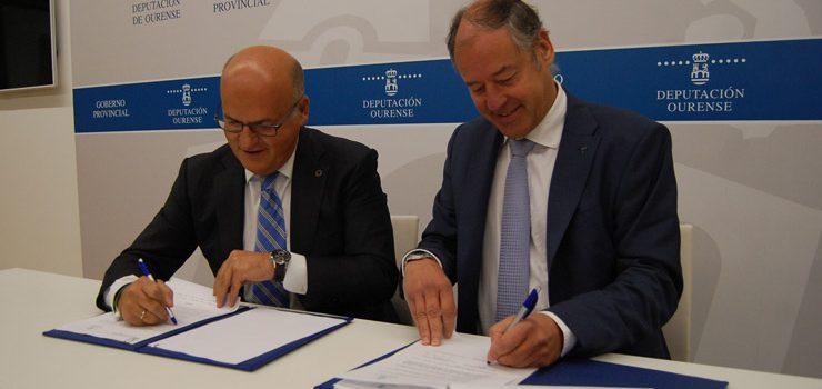 A Deputación incrementa o seu apoio á Universidade de Vigo