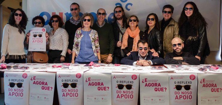 AECC y Ourense Centro sensibilizan sobre el cáncer de mama