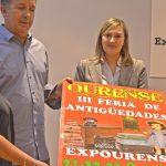 Presentación de la III Feria de Antigüedades de Ourense.