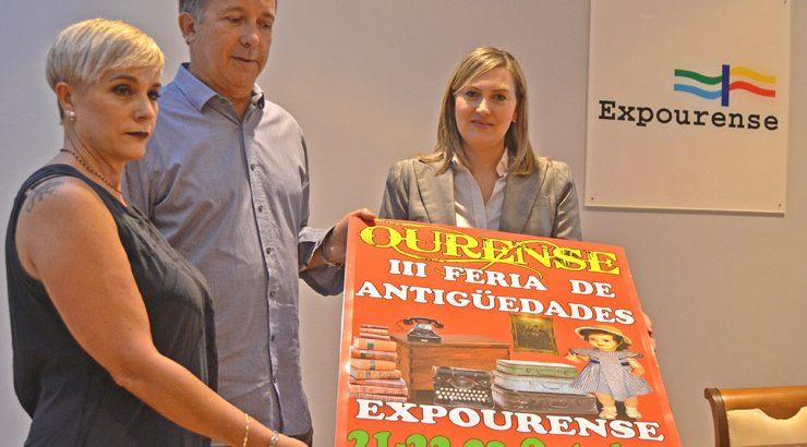 Cerca de 40.000 piezas en la III Feria de Antigüedades de Ourense
