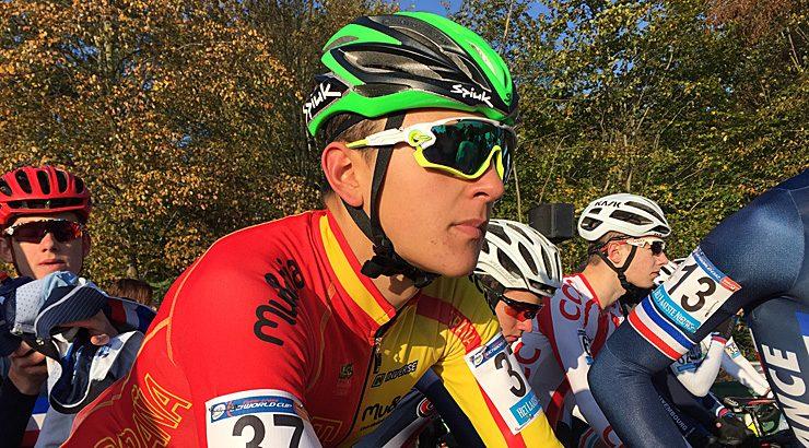 Iván Feijoo, 35º en Holanda