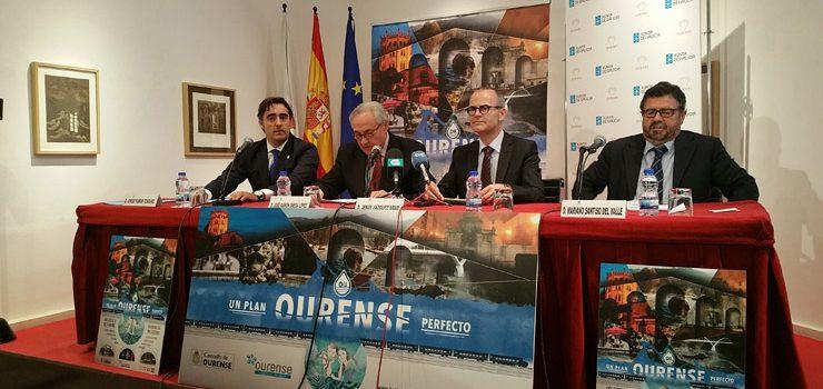 """""""Ourense, un Plan Perfecto"""", lema de la campaña turística para situar a la ciudad como destino este otoño"""