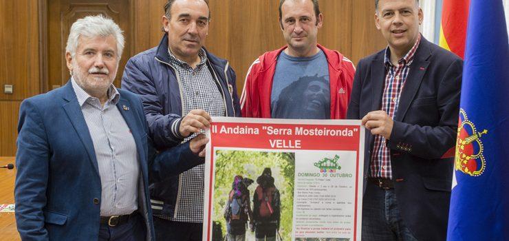 """Sendeiros recuperados de Velle para a II andaina """"Serra Mosteironda"""""""