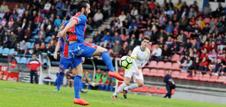 A UD Ourense recibe ao Antela