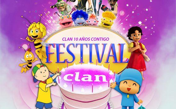 Festival Clan ¡Ven a mi cumple!