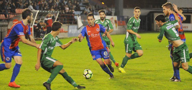 A UD Ourense adiántase na eliminatoria fronte o Arenteiro