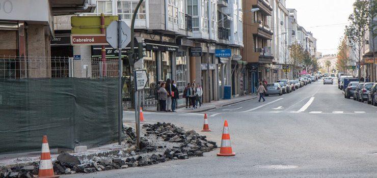 Verín comeza a reformar os principais cruzamentos do casco urbano