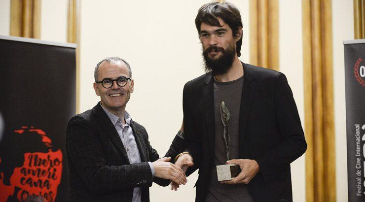 Oliver Laxe recolle o Premio Cidade de Ourense