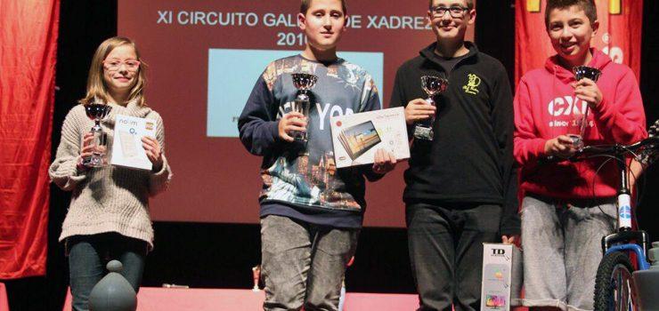 O Club Xadrez Ourense, club máis galardoado en 2016
