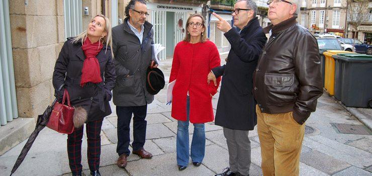 A Xunta rehabilitará a principios de 2017 novos edificios no casco vello