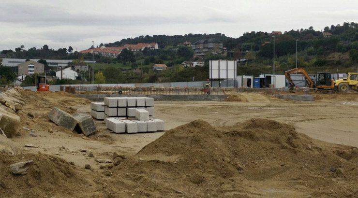 As obras do Centro Interxeracional de Mariñamansa marchan a bo ritmo