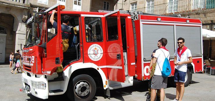 O servizo de extinción de incendios reforzarase con 1,8 millóns de euros nos vindeiros catro anos