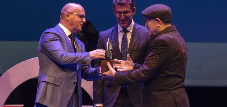 """O premio """"Ourensanía"""" 2016 recoñece ao produtor de cine José Sousa"""