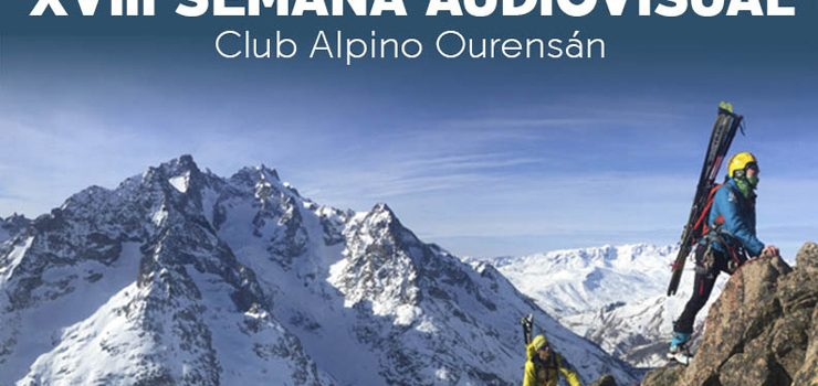 "O Auditorio acolle a ""XVIII Semana Audiovisual do Club Alpino Ourensán"""