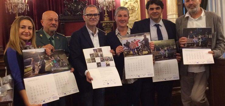 Down Ourense presenta o seu novo calendario
