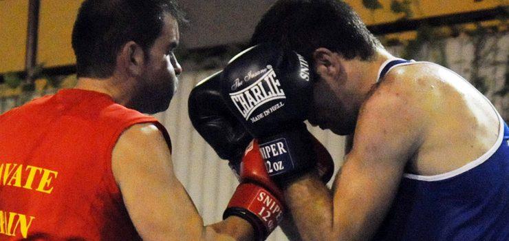 O boxeo ourensán celebrou a Copa Deputación