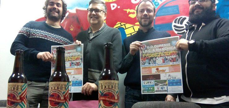 A UD Ourense presentará a súa base no partido contra A Manchica