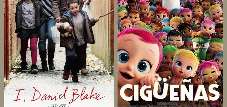 Cine: «Cigüeñas» e «Yo, Daniel Blake»