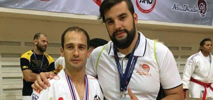 Felipe Iglesias e Christian Alvarez, quinto e séptimo no Mundial de Jiu Jitsu