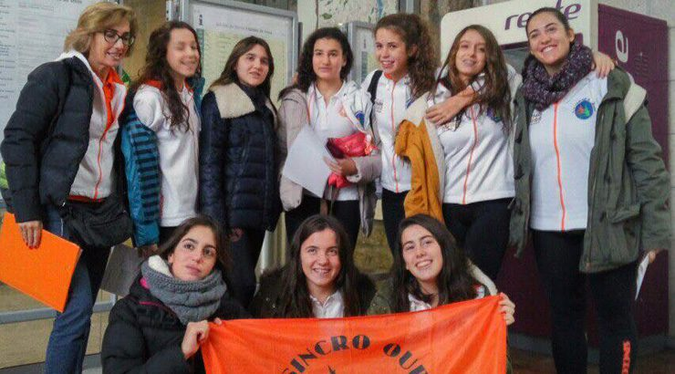 O Sincro Ourense, o mellor galego no Campionato de España