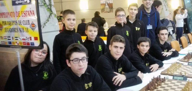 Excelente arranque do Club Xadrez Ourense no Campionato de España por equipos