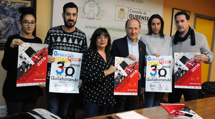 O Torneo de Nadal reunirá a máis de 500 ximnastas