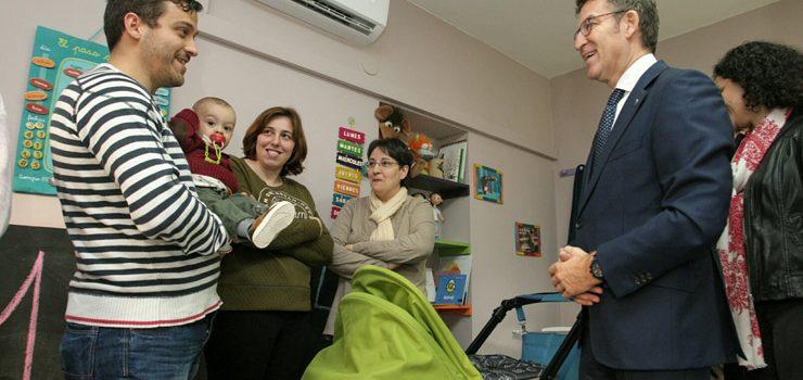 Seis concellos ourensáns dispoñen xa de casas niño
