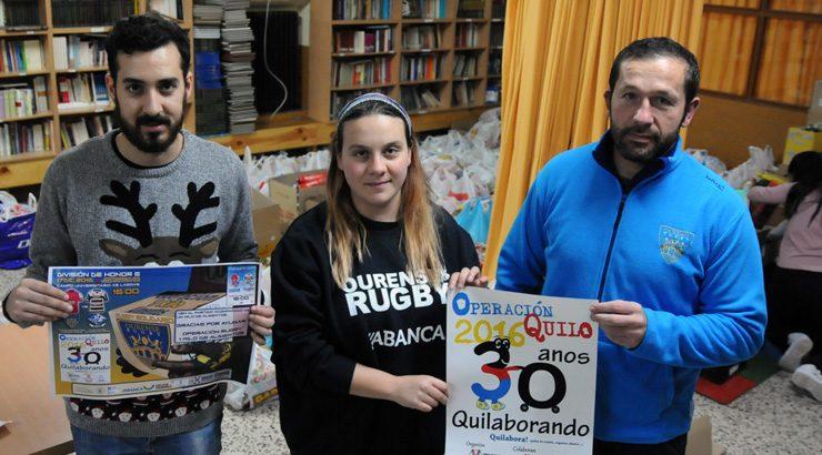 O Campus Ourense Rugby coa Operación Quilo