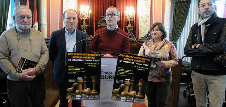 Barrocás celebra o seu 32º Torneo Aberto Aninovo de Xadrez