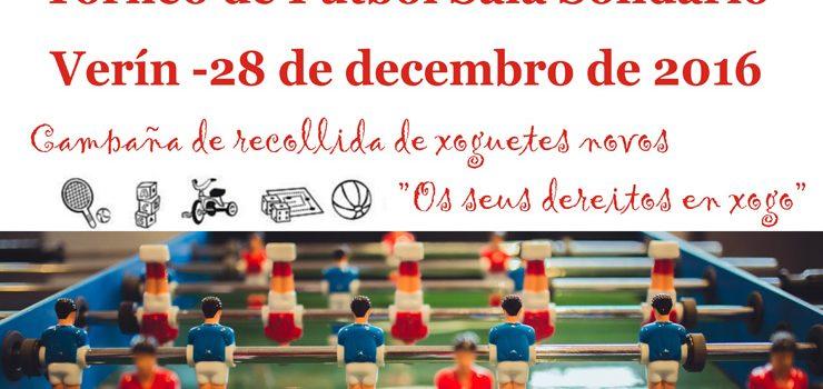 Un torneo de fútbol sala para recadar xoguetes para Cruz Vermella Monterrei