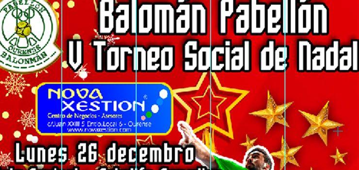 El Pabellón Balonmán organiza su V Torneo social de Nadal