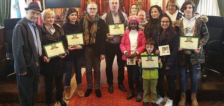 Entregáronse ospremios do 'XXI Concurso de Beléns Públicos de Ourense'