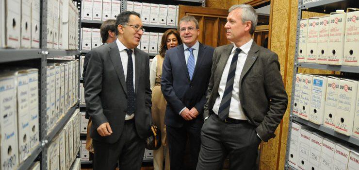 Rueda visita as renovadas instalacións da administración de xustiza