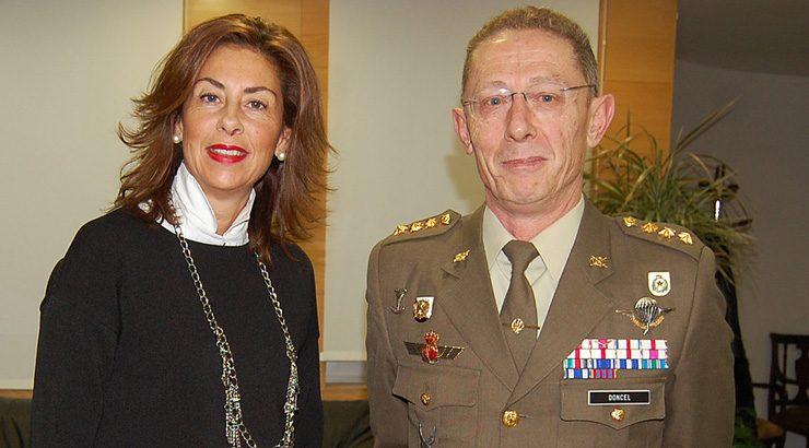 Visitas do novo subdelegado de Defensa ás institucións