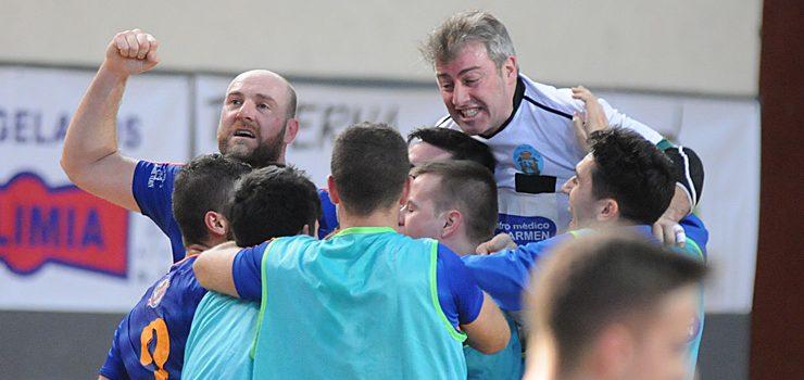 Outra vitoria «in extremis» para o Sala Ourense