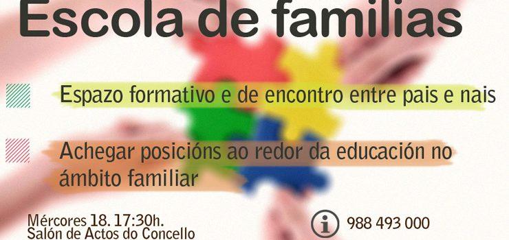 Escola de familias, en Castrelo de Miño