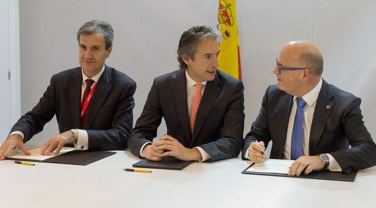 Deputación de Ourense e Renfe asinan en Fitur o convenio para promocionar a provincia como destino termal