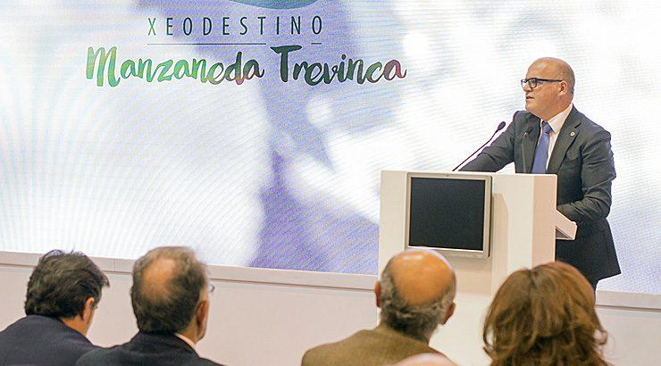 """Presentación en Fitur do xeodestino turístico """"Manzaneda-Trevinca"""""""