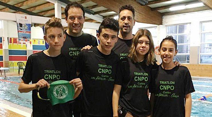 Natación y triatlón para el CNPO