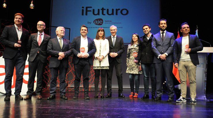 Kaleoki y Conexiona, emprendedor y joven empresario del año en Galicia