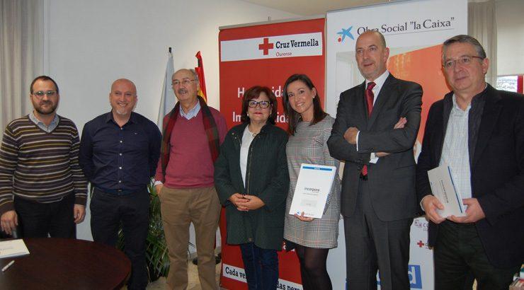 La Caixa y la Asociación de Artesáns de Ourense colaborarán con Cruz Roja